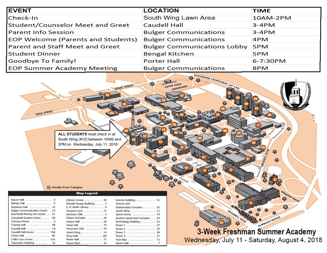 EOP Freshman Summer Academy | Educational Opportunity Program ...